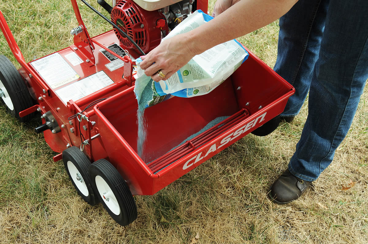Over seeding lawncare
