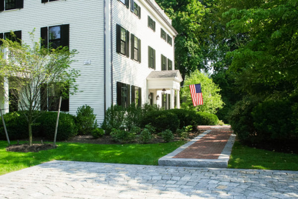 front walkway for boston home