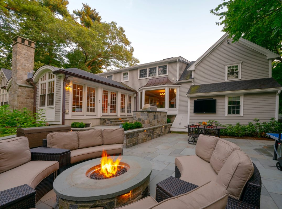 7 Ideas For Patios That Will Give You A Great Gathering Space For Your Family Land Design Associates